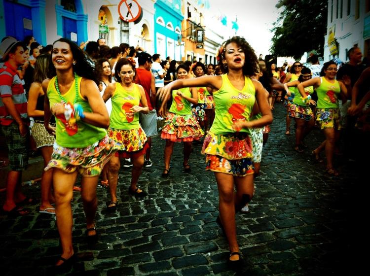 Previas de Carnaval em Olinda